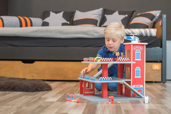 Ons model Maurits is 3 jaar.