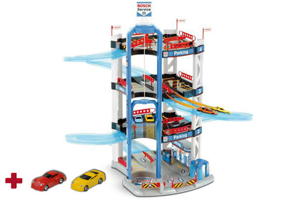 Bosch speelgoedgarage racing tower.