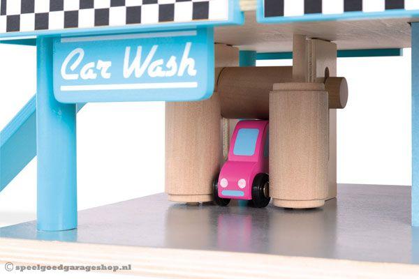 Houten Garage Janod : Janod pompstation speelgoedgarageshop.nl