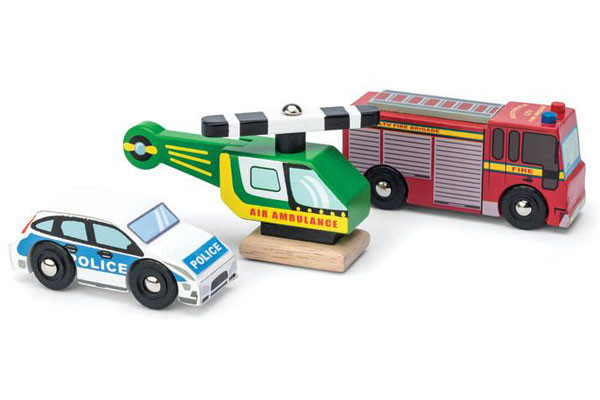 Emergency vehicles set