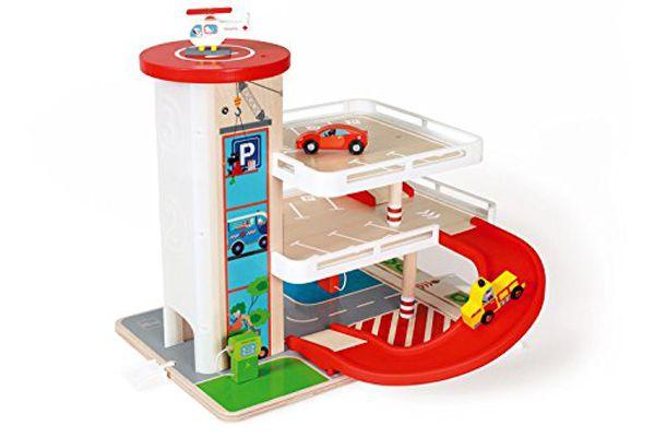 Speelgoed Garage Hout : Scratch scratch parkeergarage met lift speelgoedgarageshop