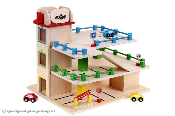 Speelgoed Garage Hout : Woodtoys woody speelgoedgarageshop